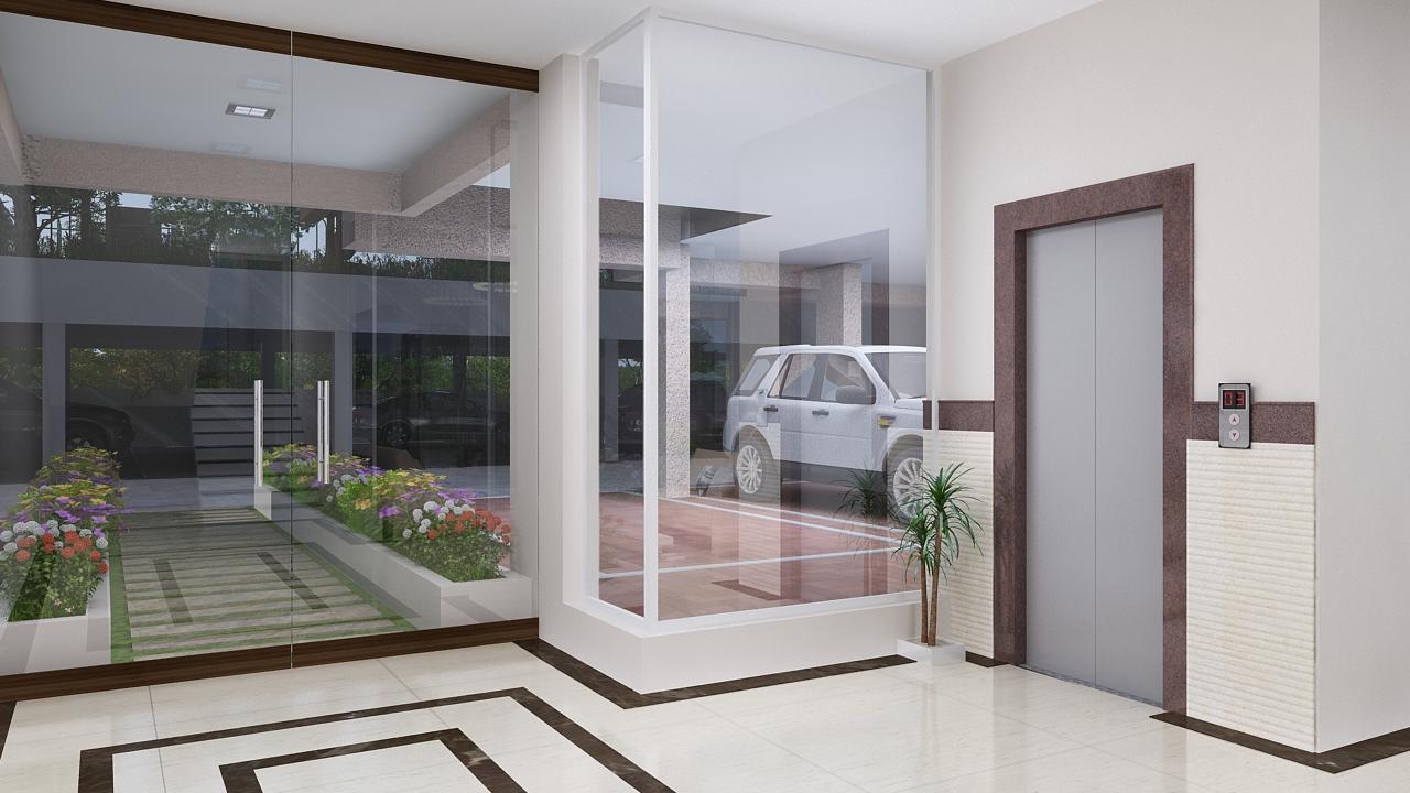 Amodini Apartment Entrance Lobby image.