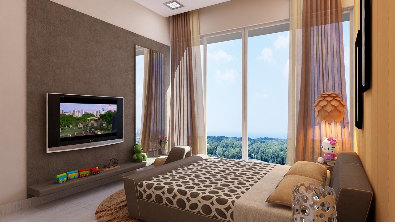 Amodini Apartment child bed image.